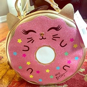🥳FINAL PRICE BETSEY JOHNSON INSULATED 🍩LUNCH BAG